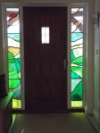 bespoke stained glass landscape