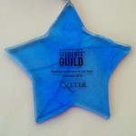exeter uni award blue star